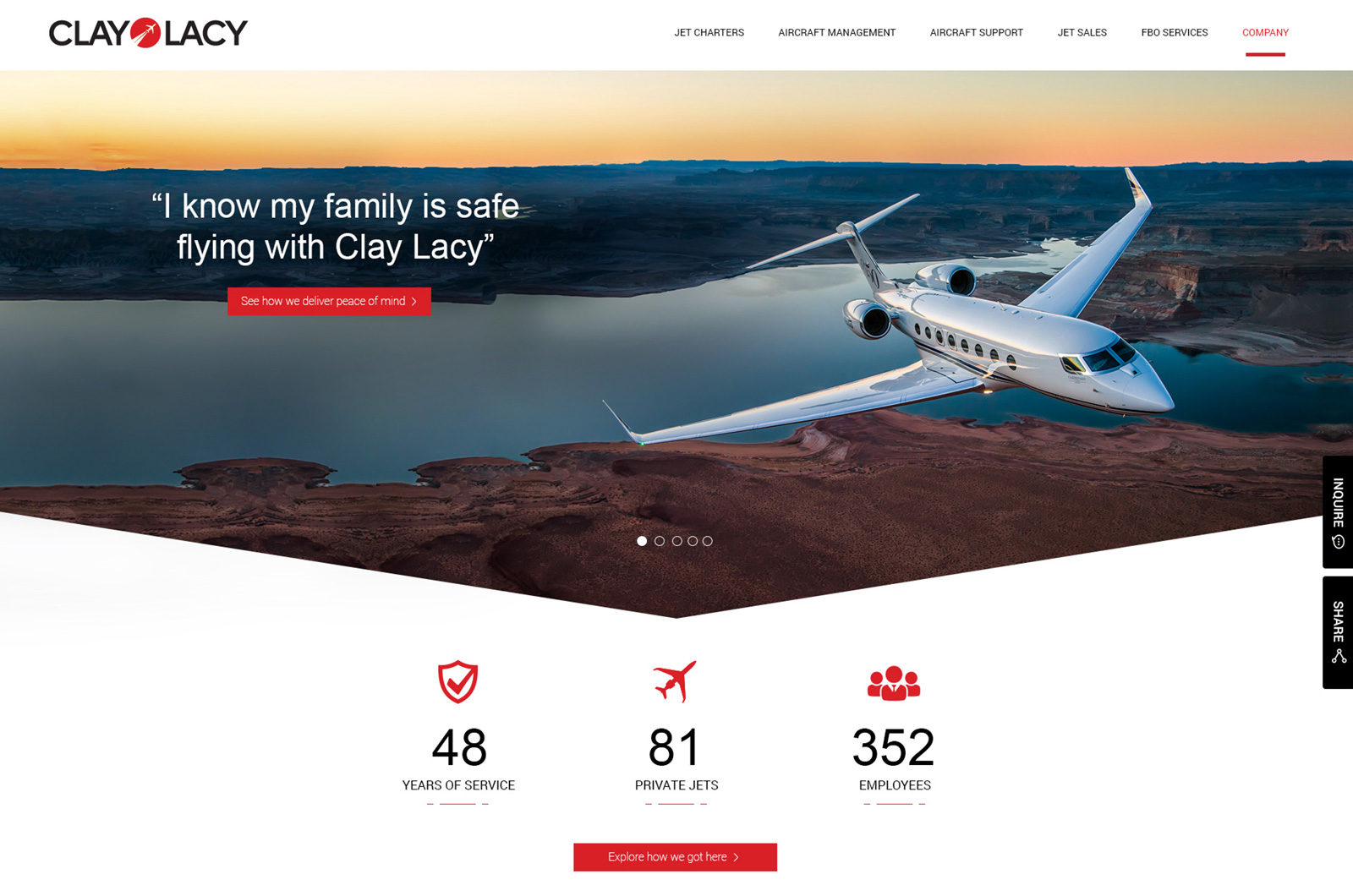 Web Design for Aviation
