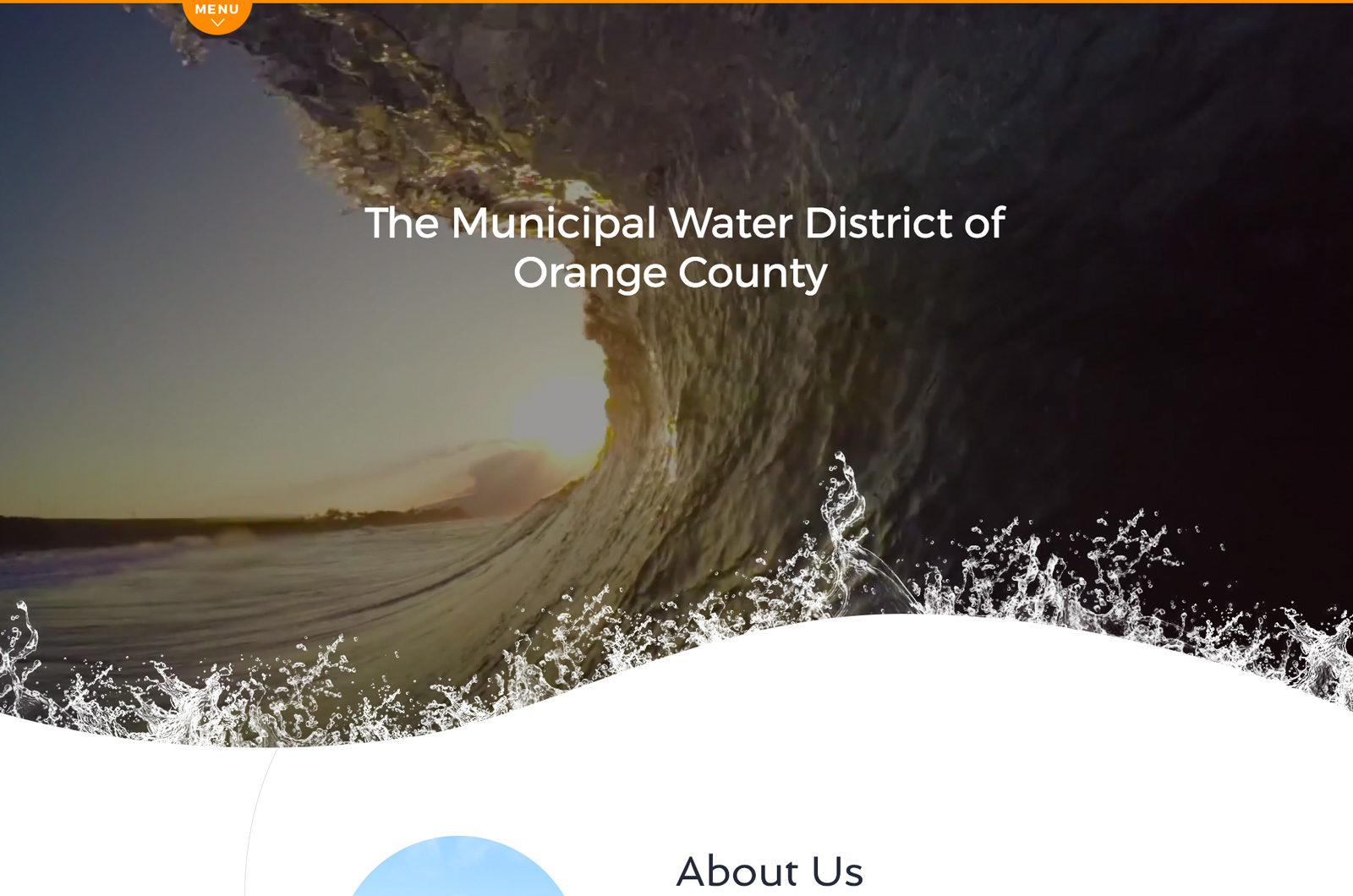 Web Design for Municipal Water District of OC